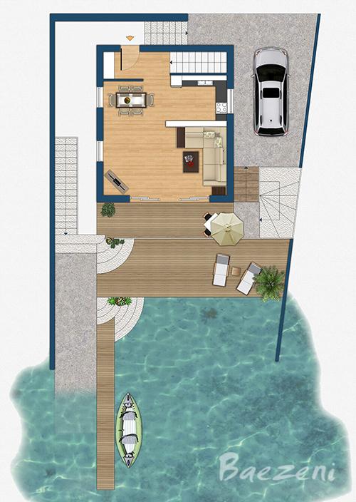 3D floor plan • (2011)