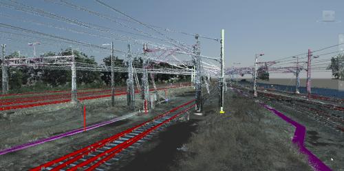 Point Cloud to Railway BIM model• (2016)