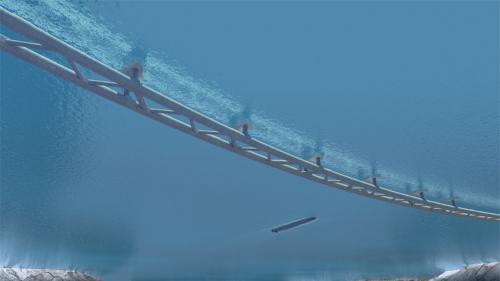 E39 Sognefjord - Submerged floating Bridge • (2011)