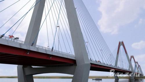 3D bridge and construction details Vietnam • (2011)