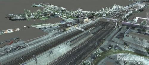 Pointcloud to vector BIM railway models (2016)