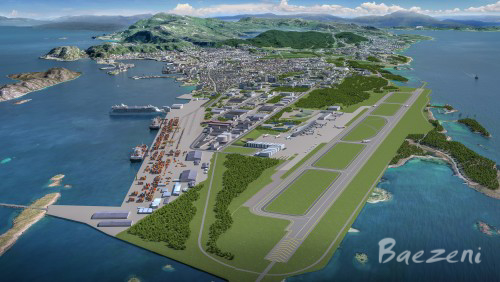 Bodø 100 year new city vision