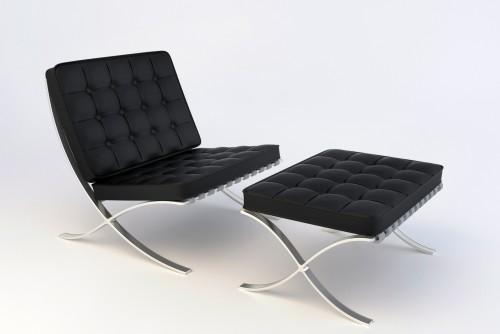 Chair black Dan 8027b