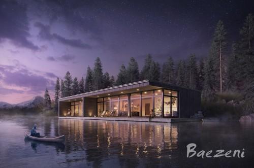 Modern cottage Darkness style 2019
